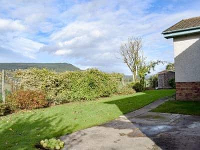 Rear garden with far reaching views | Afton, Aberfeldy