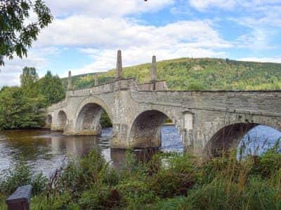 Tay River and Wade Bridge  | Afton, Aberfeldy