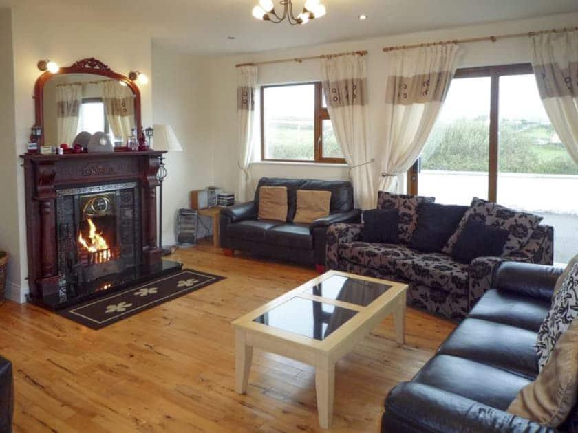 Elegant living room | Woodside House, Valentia Island