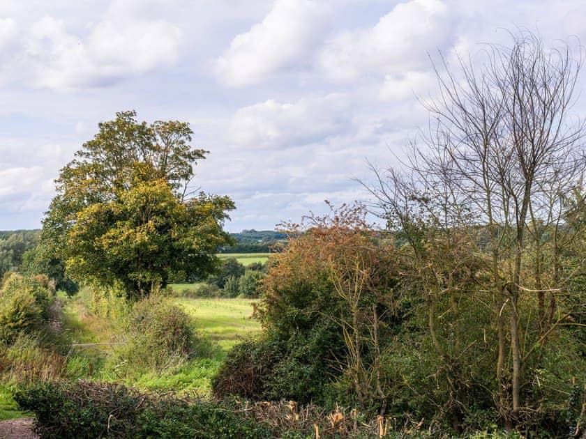 Superb rural views | Cowslip Cottage - Swardeston Cottages, Swardeston, near Mulbarton