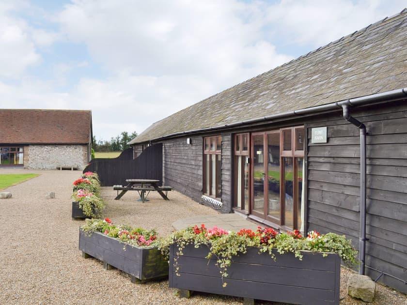 St Radigund's Abbey Farm - Flint Barn