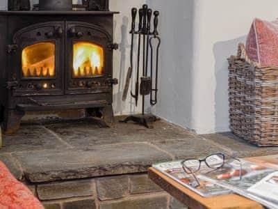 Cosy ood burner   Henglyn, Palleg, near Ystradgynlais