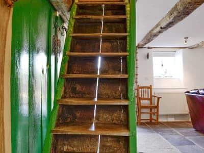 Stairs | Henglyn, Palleg, near Ystradgynlais