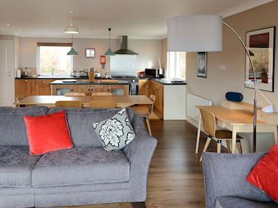 Spacious open plan living space | Morlich, Gairloch