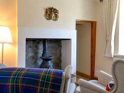 Snug with wood burner | Churchill House, Grassington