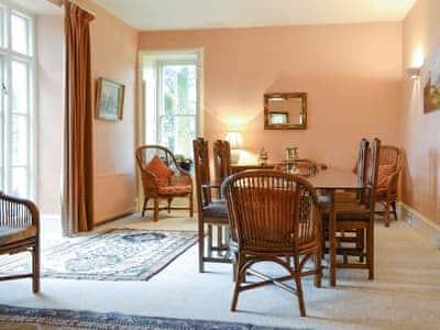 Spacious dining room  | The Manor House - Plas Meini, Llan Ffestiniog