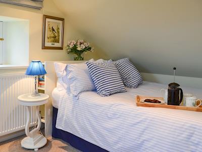 Cosy and romantic bedroom | Auchendinny Mains Bothy, Penicuik
