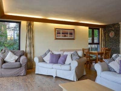 Spacious living/dining room | Waterhead Studio, Near Ambleside