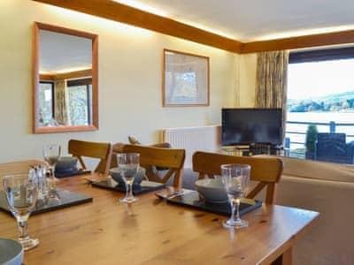 Stylish dining area | Waterhead Studio, Near Ambleside