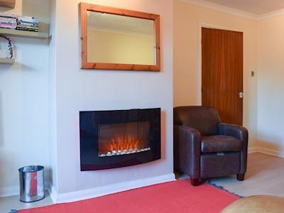 Contemporary living flame electric fire | La'al Gem, Keswick