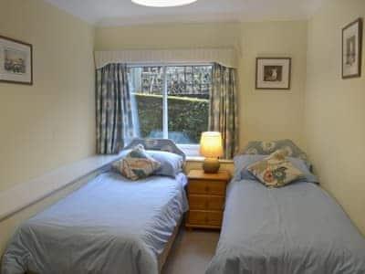 Cosy twin bedroom | Coombery Loft - Tuckenhay Mill, Bow Creek, between Dartmouth and Totnes