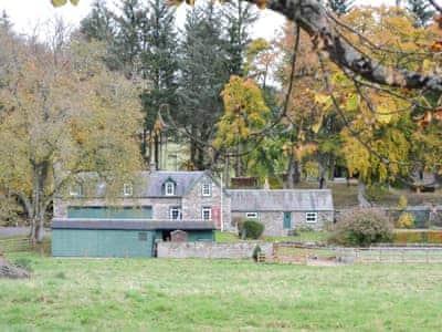 Lovely detached cottage | Inverchroskie Cottage, Enochdhu, near Pitlochry