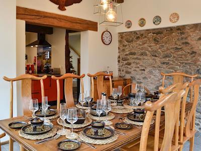 Dining room | The Owl House - Tan Y Foel, Llanfihangel, near Llanfyllin