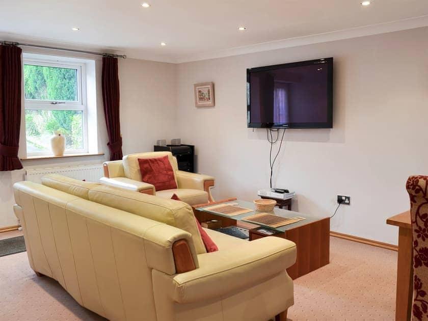Living area   Bronte Cottage, Oakworth near Haworth