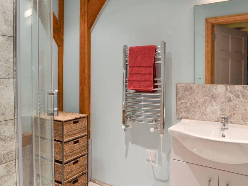 shower room | Boreham Bridge Barn, Ninfield, near Battle
