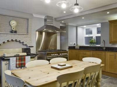 Spacious kitchen with dining area | Woodbank, Newton Stewart