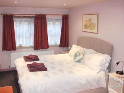 Comfortable double bedroom | Benchmark Cottage, Haworth