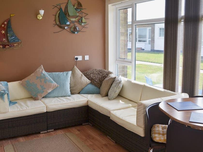 Open plan living/dining room/kitchen | Hollyhocks, Walcott