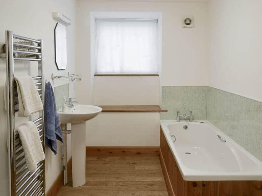 Bathroom with bath and separate shower cubicle | Ash Farm Barns - The Bridles  - Ash Farm Barns, North Willingham, near Market Rasen
