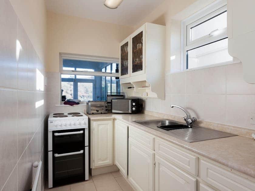 Modest galley-style kitchen   Sandquay Road 9, Dartmouth