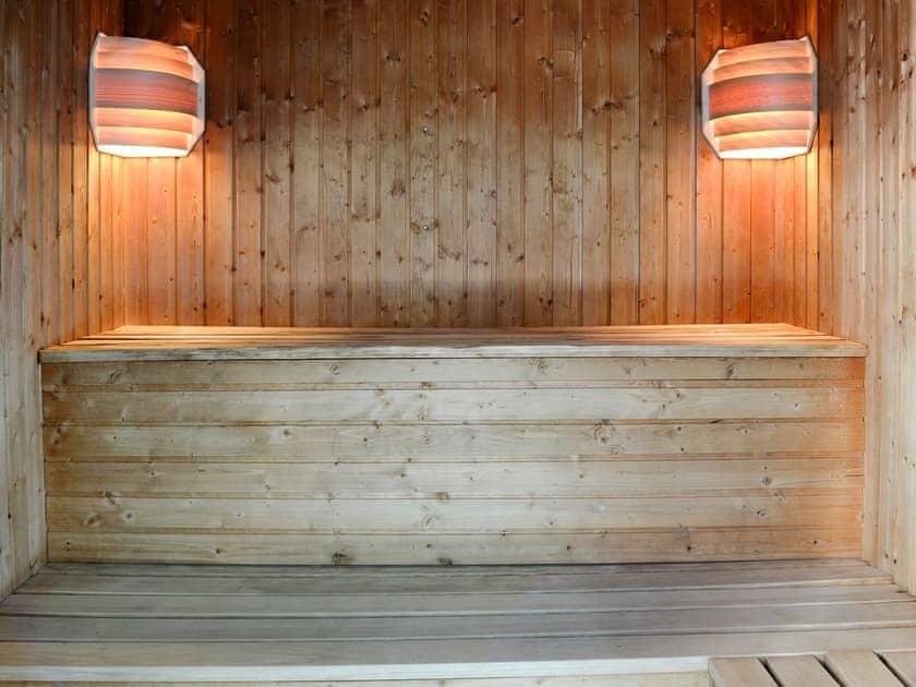 Shared sauna facilities | Stonelands Farmyard Cottages, Litton near Kettlewell