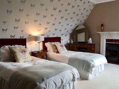 Twin bedroom | Albion House, Castle Douglas