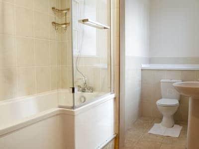 Bathroom on the first floor | Llys Y Craig, Near Penraeth