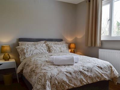 Double bedroom with en-suite | Herdman's Hideaway, Ffrwdgrech, near Brecon