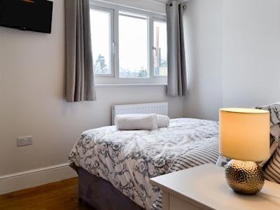 Double bedroom | Herdman's Hideaway, Ffrwdgrech, near Brecon