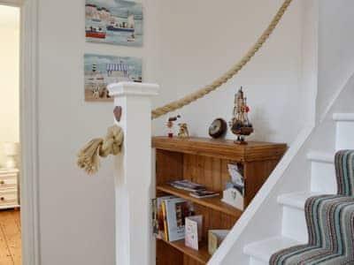 Hallway & stairs | Salty Dog, Findochty, near Buckie