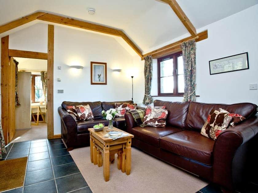 Cosy living area | Lanhydrock Barn, Lanhydrock