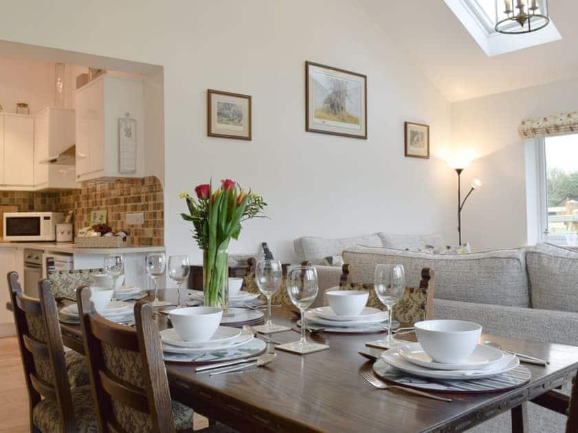 Well presetned dining area  | Stubb Oak, Colwall, near Malvern