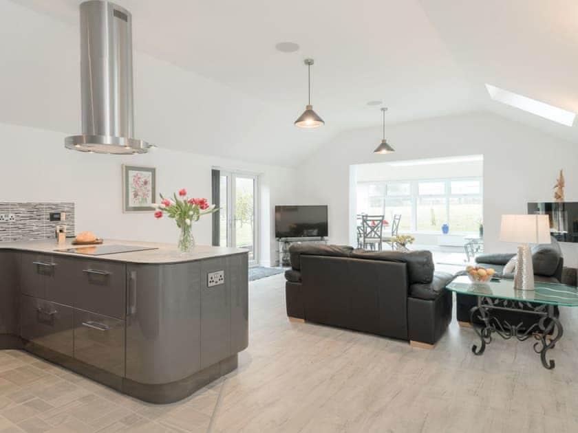 Luxurious open plan living space | Bay Cottage, Boughton, near Downham Market