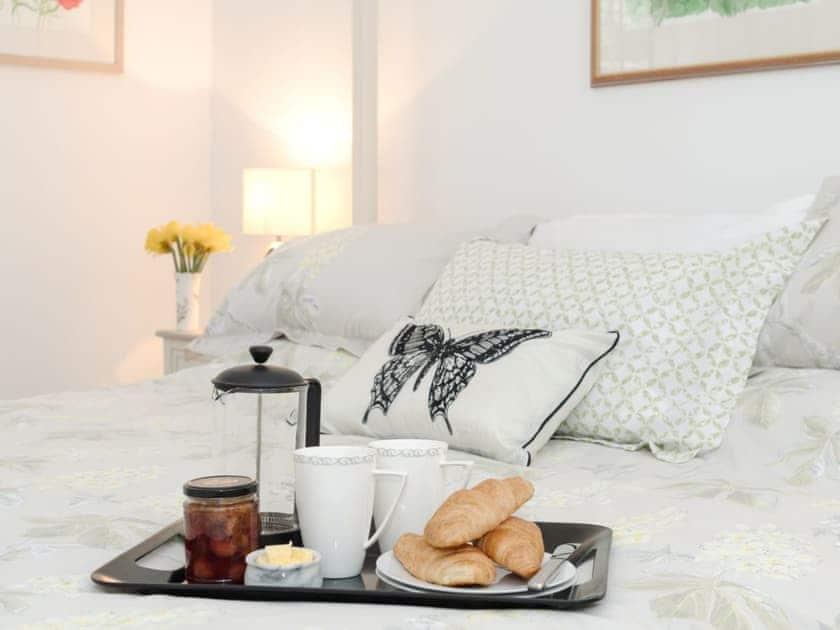Relaxing bedroom | Bay Cottage, Boughton, near Downham Market
