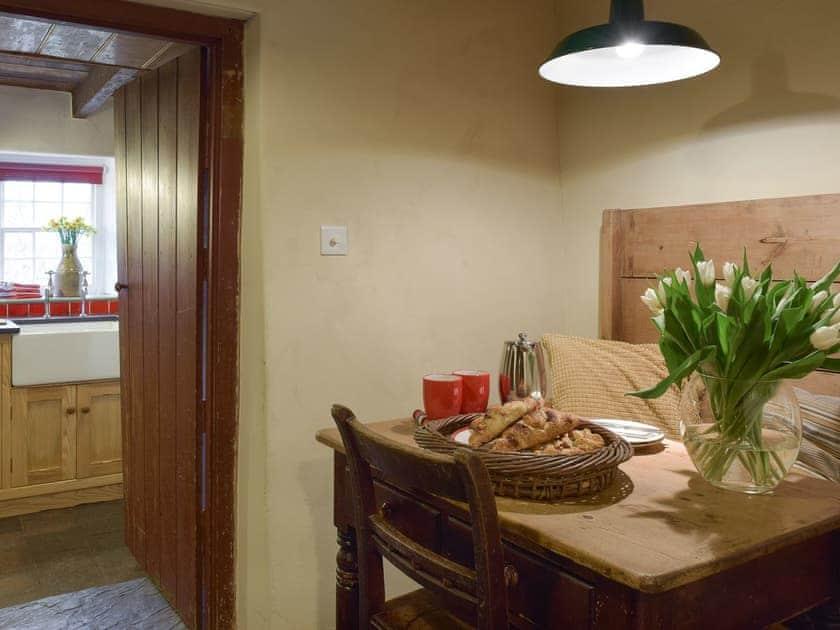 Convenient dining area near to kitchen   2 Penrhiw, Abercych, near Newcastle Emlyn