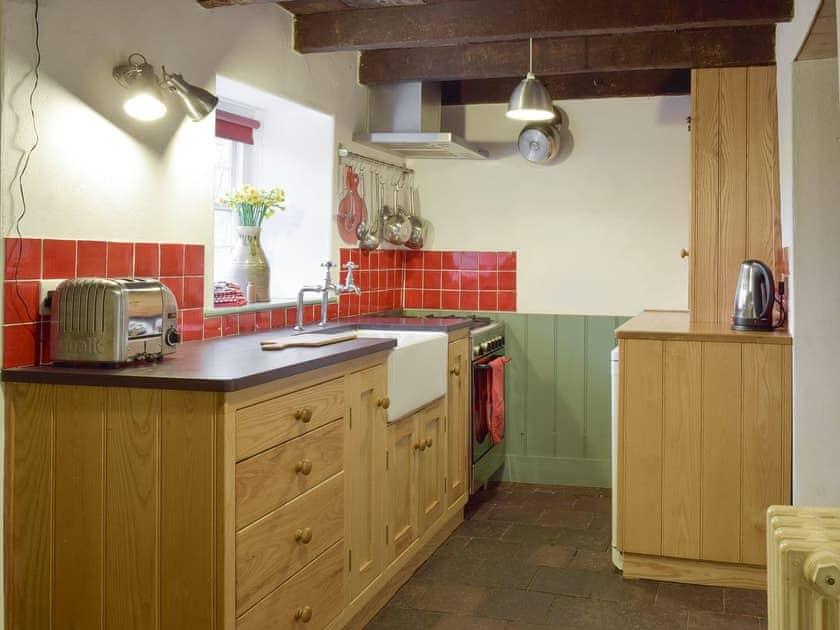 Well-equipped kitchen   2 Penrhiw, Abercych, near Newcastle Emlyn