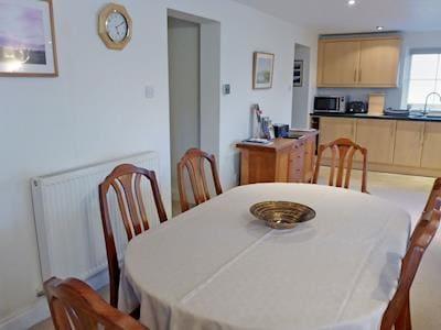Generous sized dining area | Derwentwater View (was 10 Harney Peak) - Harney Peak, Portinscale