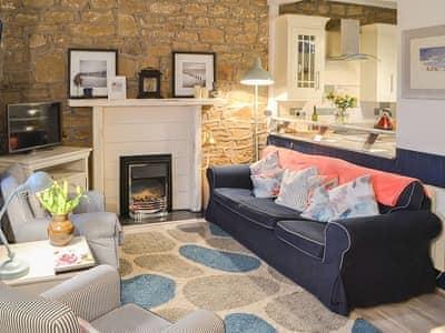 Welcoming living area | Clutter Cottage, Druridge Bay