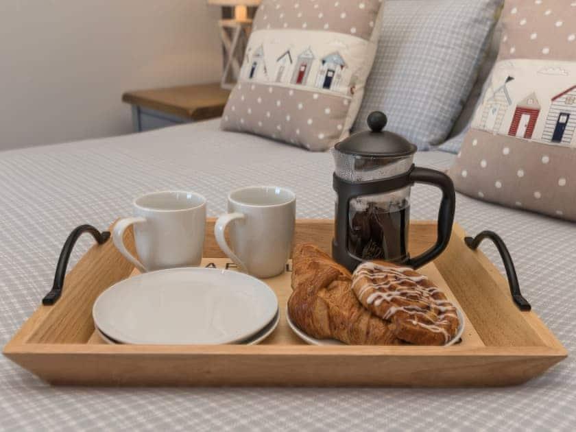 Breakfast in bed | Amelia House, Sheringham