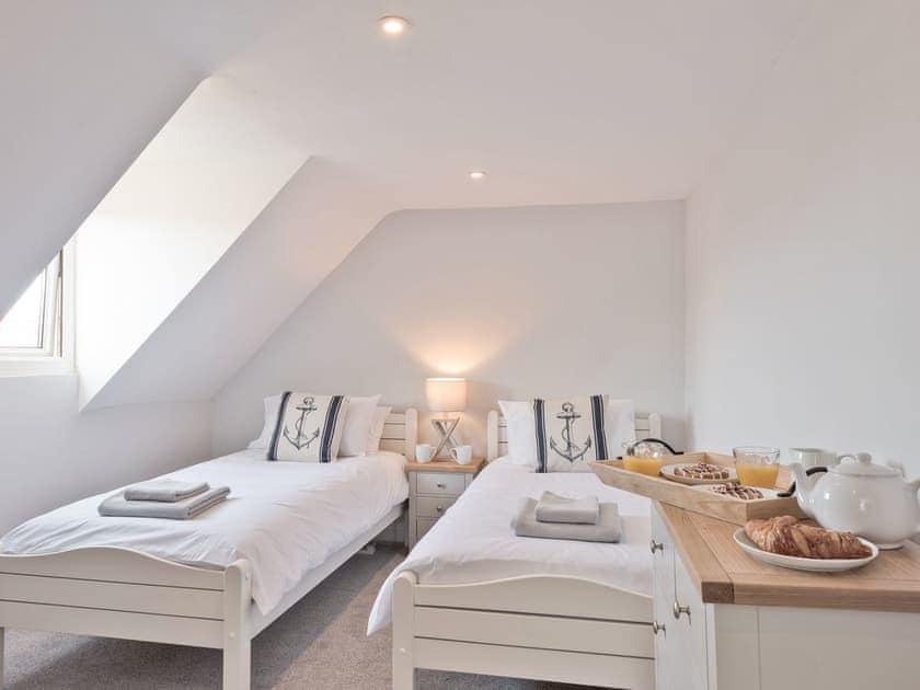 Twin bedroom | Amelia House, Sheringham