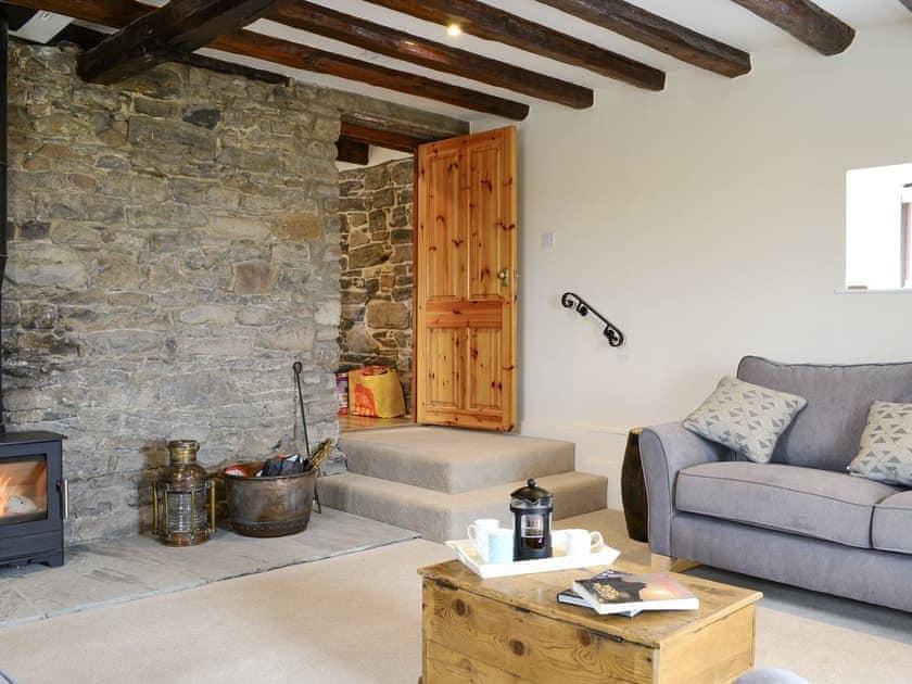 Spacious living area | The Old Granary, Holy Island, near Berwick-upon-Tweed