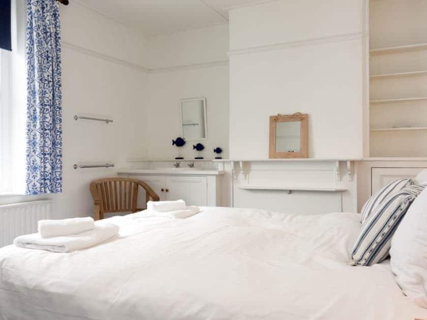 Double bedroom   Church Street 23, Salcombe