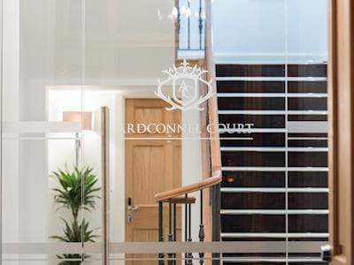 Contemporary entrance | Ardconnel Court Apartments, Inverness