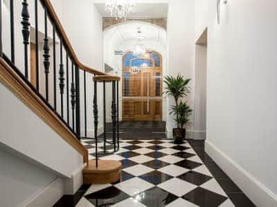 Stylish entrance hall | Ardconnel Court Apartments, Inverness
