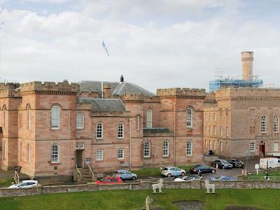 Wonderful view of Inverness castle | Ardconnel Court Apartments, Inverness