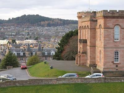 Lovely view past inverness castle | Ardconnel Court Apartments, Inverness