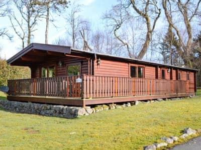 Norwegian-style forest lodge | Birchlea Lodge, Kippford, near Dalbeattie