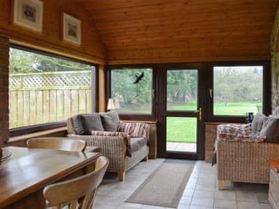 Light and airy sun/ dining room | Granary Cottage, Ulrome, near Hornsea