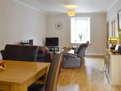 Spacious living and dining room | Jura - Portpatrick Holiday Homes, Portpatrick, near Stranraer