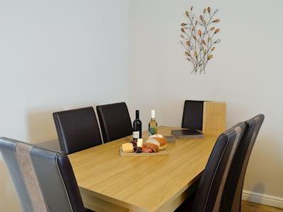 Convenient dining area | Jura - Portpatrick Holiday Homes, Portpatrick, near Stranraer